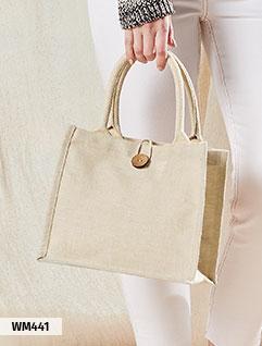 Jute-Taschen